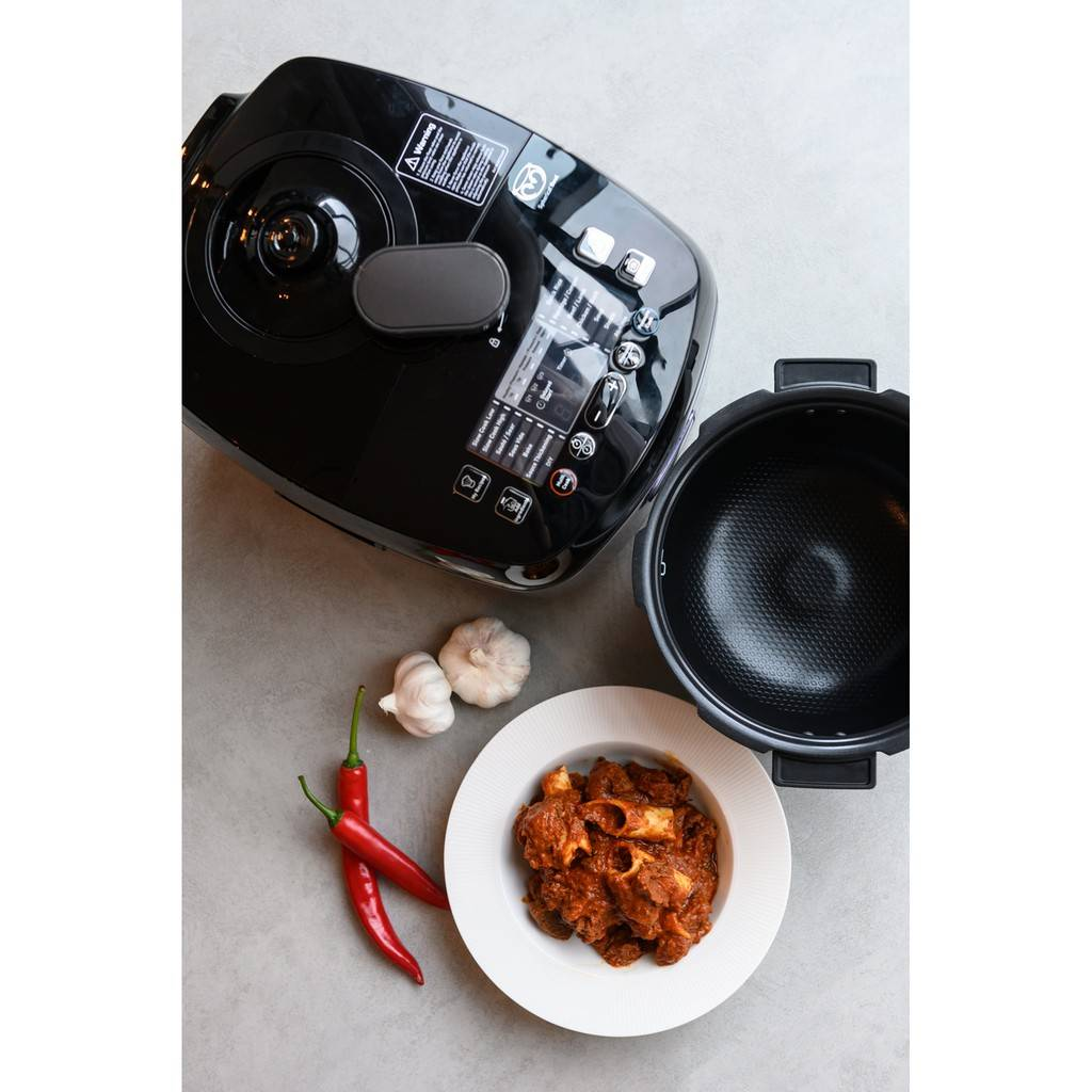 Tefal Home Chef 5l 1000w Smart Pro Multicooker Cy625d Cy625d65 Electrical Pressure Cooker Rice Steam Brown Simmer Slow Cook Tefal Malaysia Authorized Dealer
